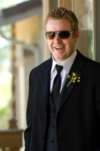 Best Man at Potters Wedding