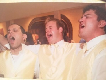 Singing at Wilbur Wedding