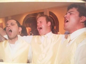 Singing at Wilbur Wedding